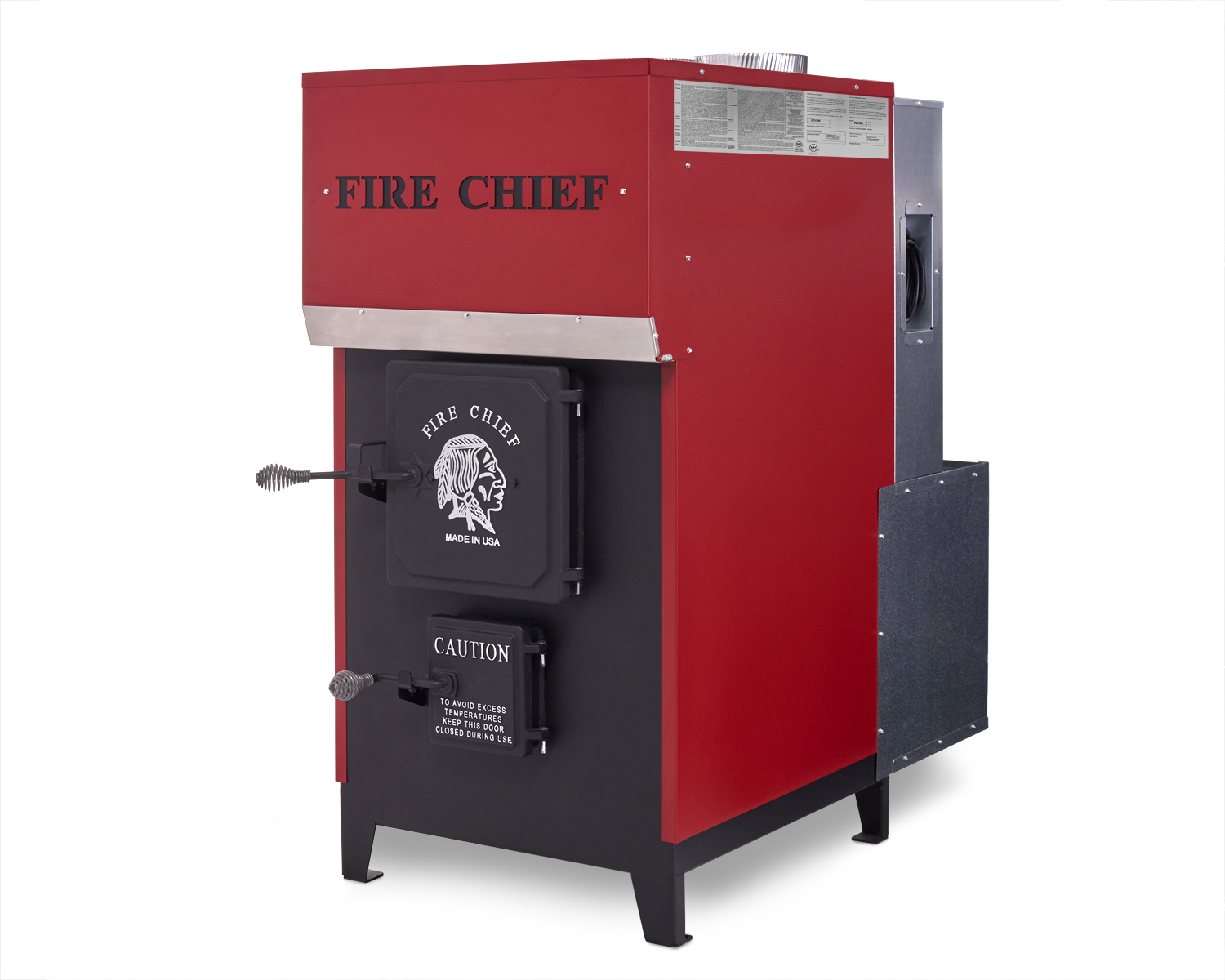 Fire chief products archive hy c for Whole house wood furnace